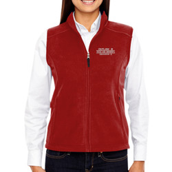 SQ-8 Ladies Fleece Vest