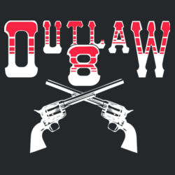 Outlaw 8 Hoodie Design
