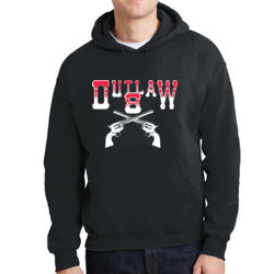 Outlaw 8 Hoodie Thumbnail